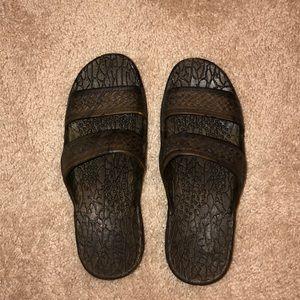 Pali Hawaii Brown Jesus Sandals